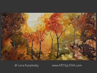 Fall Foliage - home decor art